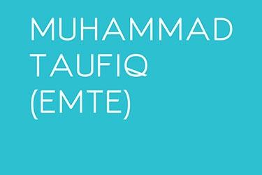 Artist Profile: Muhammad Taufiq (EMTE)