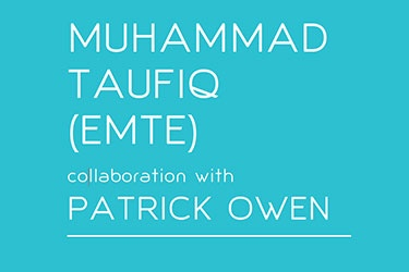 Artist profile: Muhammad Taufiq with Patrick Owen