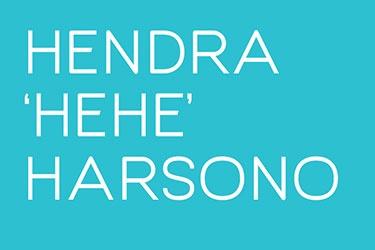 Artist profile: HENDRA hehe HARSONO