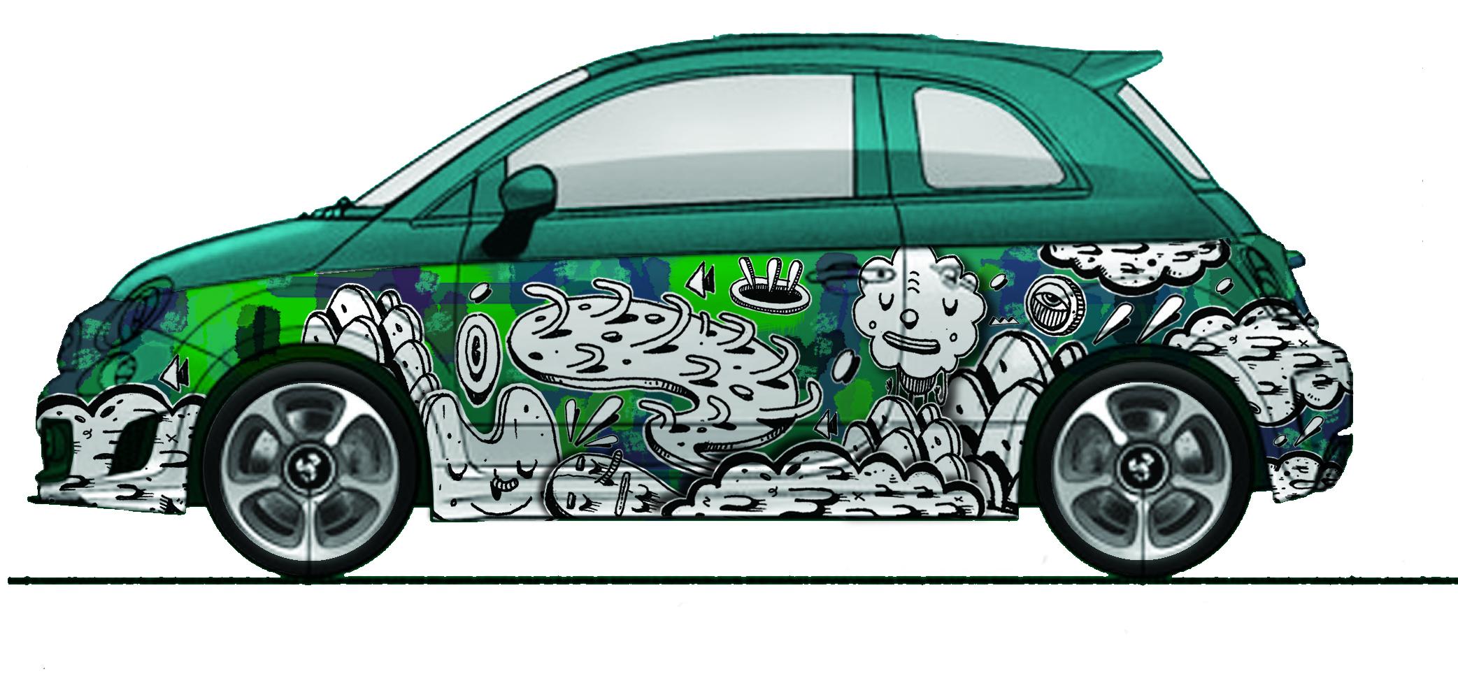 Abarth Car by HeHe