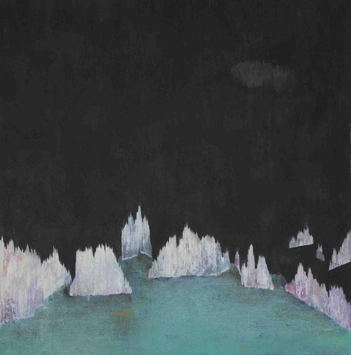 Marco_Cassani_Island_60cmx61cm_oil_enamel_acrylic_on_canvas_2009