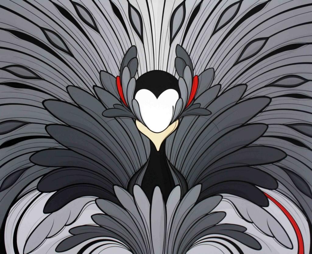 Spellbound(BlackMirror)140x170cms