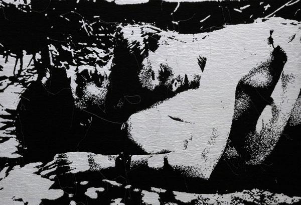 erik-pauhrizi-Realm-of-Coney-Island-appetite_01-media-Embroidery-on-canvas-size-190-x-130-cm-2010
