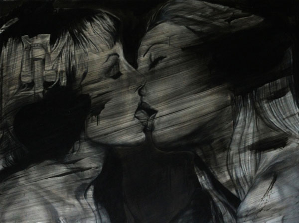 erik-pauhrizi-three-narratives-of-feeling-media-Oil-on-canvas-size-205-x-153-cm-2010