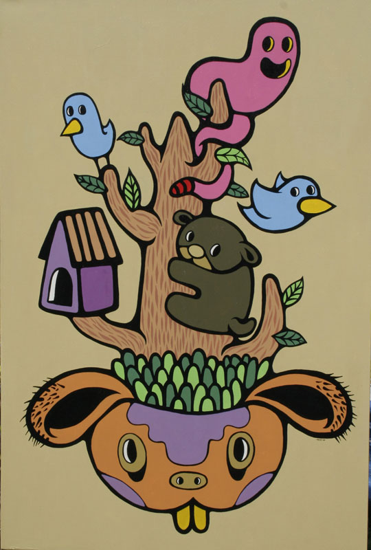 "Berbagi Pohon di Kepala Tuan Kucing by Hendra""HeHe""Harsono"