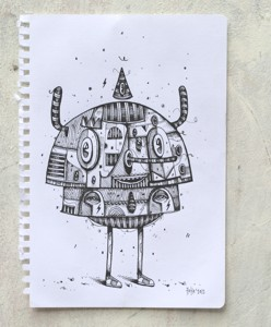 two layer-ink on paper-2012